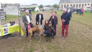 Stanislas, Marie-Catherine, Irène, Yvette et Yvon